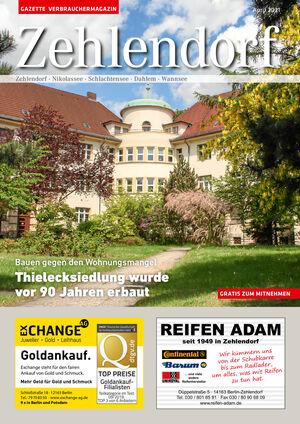 Titelbild Zehlendorf 4/2021