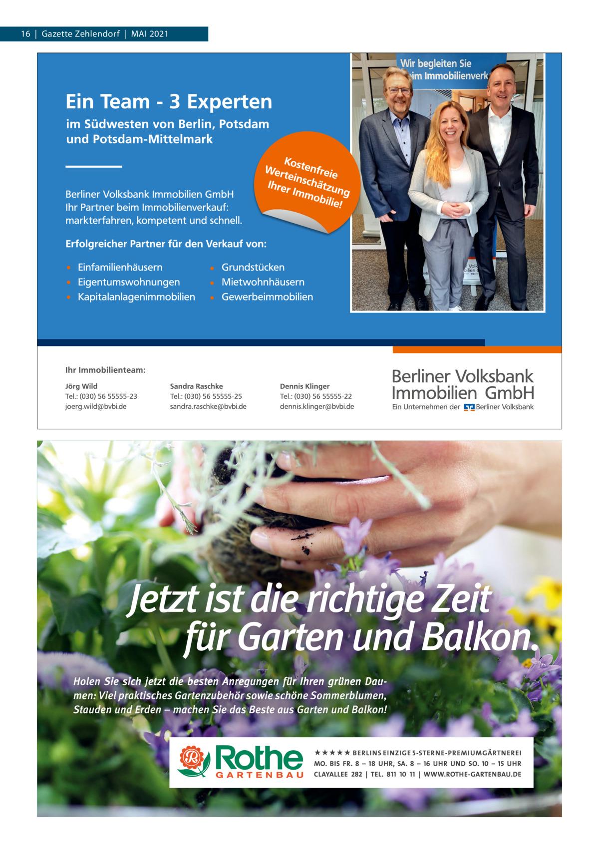 16 Gazette Zehlendorf MAI 2021