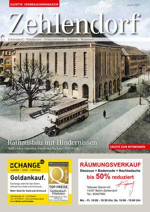 Titelbild Zehlendorf 6/2021