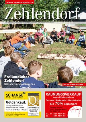 Titelbild Zehlendorf 7/2021