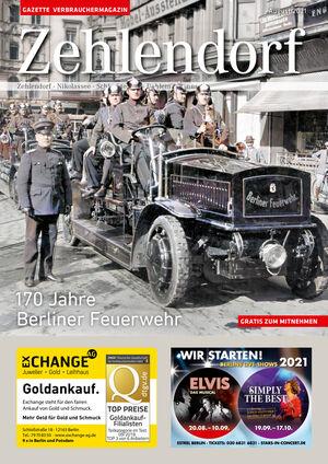 Titelbild Zehlendorf 8/2021