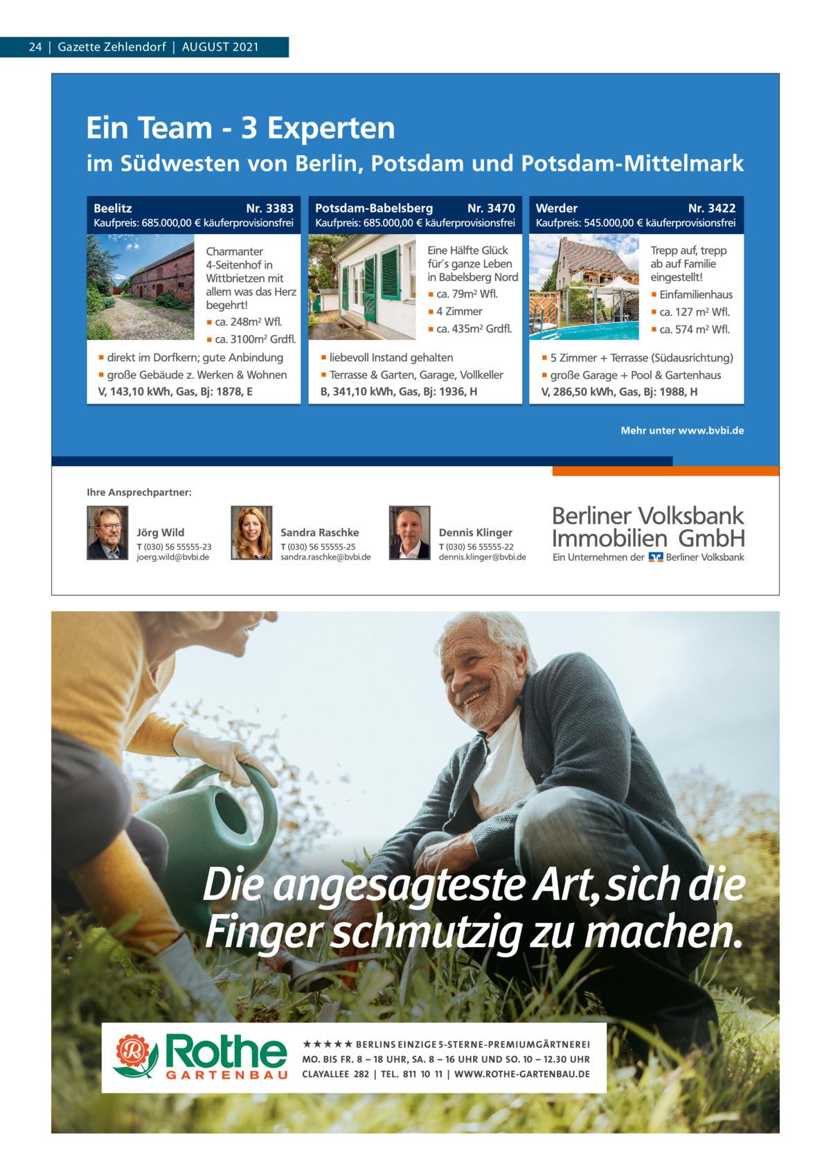 24|Gazette Zehlendorf|AuGuST 2021