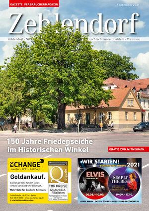 Aktuelles Titelbild der Gazette Zehlendorf