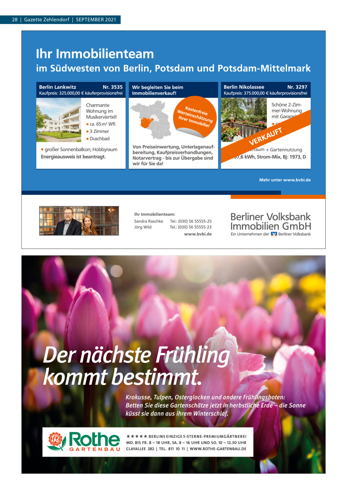 28|Gazette Zehlendorf|September 2021