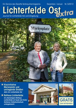 Titelbild Lichterfelde Ost Journal 5/2012