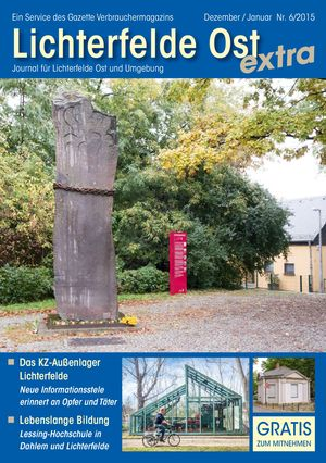 Titelbild Lichterfelde Ost Journal 6/2015