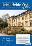 Titelbild: Lichterfelde Ost Journal August/September Nr. 4/2017