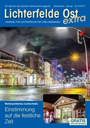 Titelbild Lichterfelde Ost Journal 6/2017