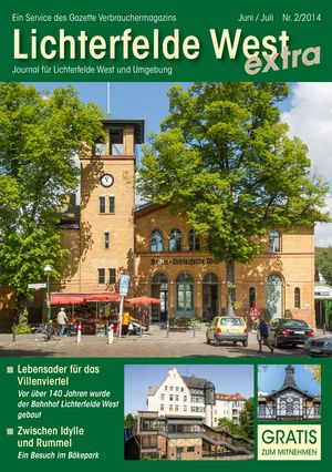 Titelbild Lichterfelde West Journal 2/2014