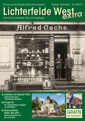 Titelbild Lichterfelde West Journal 4/2014