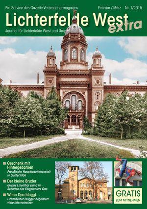 Titelbild Lichterfelde West Journal 1/2015