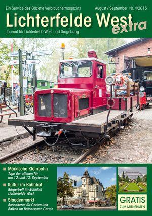 Titelbild Lichterfelde West Journal 4/2015