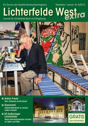 Titelbild Lichterfelde West Journal 6/2015