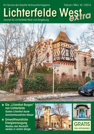 Titelbild Lichterfelde West Journal 1/2016