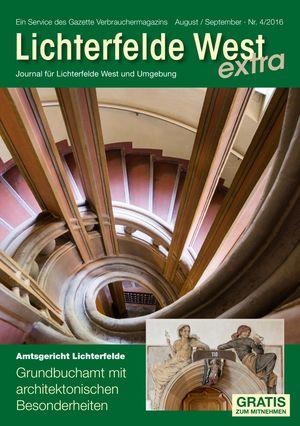 Titelbild Lichterfelde West Journal 4/2016