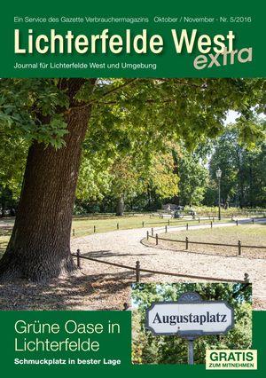 Titelbild Lichterfelde West Journal 5/2016