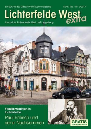 Titelbild Lichterfelde West Journal 2/2017