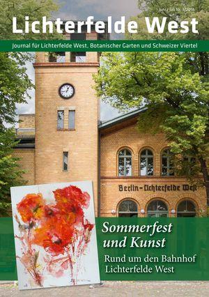 Titelbild Lichterfelde West Journal 3/2018