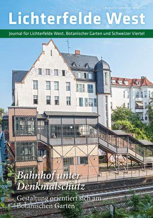 Titelbild Lichterfelde West Journal 4/2018