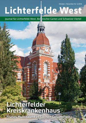 Titelbild Lichterfelde West Journal 5/2018