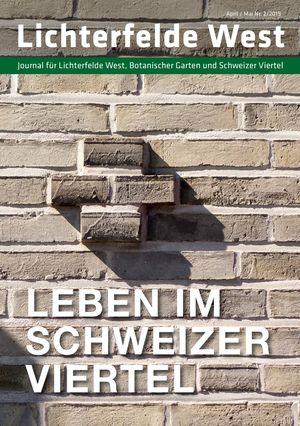 Titelbild Lichterfelde West Journal 2/2019