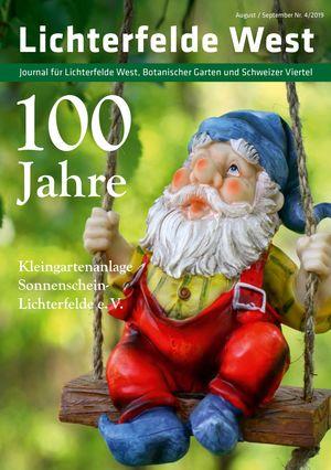 Titelbild Lichterfelde West Journal 4/2019