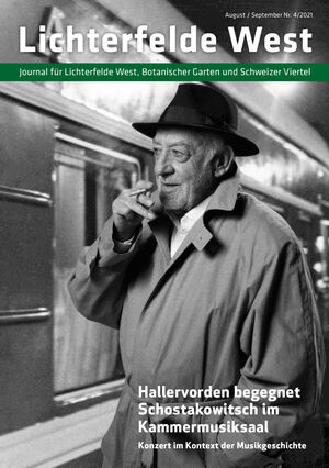 Titelbild Lichterfelde West Journal 4/2021
