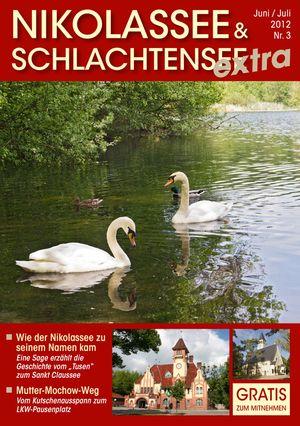 Titelbild Nikolassee & Schlachtensee Journal 3/2012