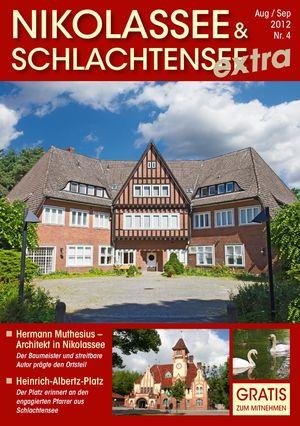 Titelbild Nikolassee & Schlachtensee Journal 4/2012