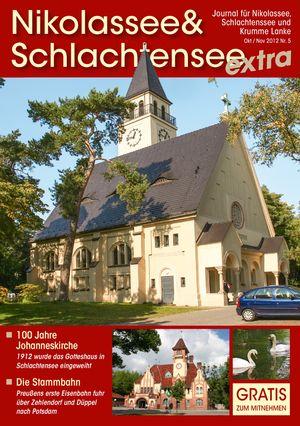 Titelbild Nikolassee & Schlachtensee Journal 5/2012