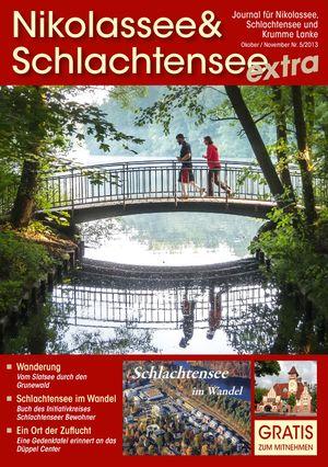 Titelbild Nikolassee & Schlachtensee Journal 5/2013