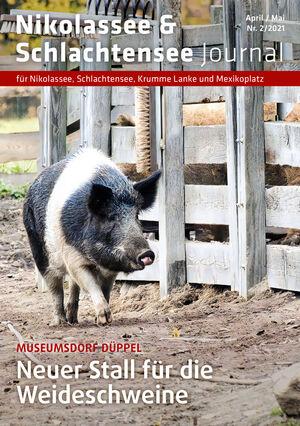 Titelbild Nikolassee & Schlachtensee Journal 2/2021