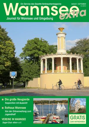 Titelbild Wannsee Journal 4/2012