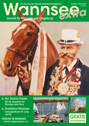 Titelbild Wannsee Journal 5/2012