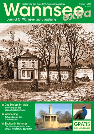 Titelbild Wannsee Journal 1/2013