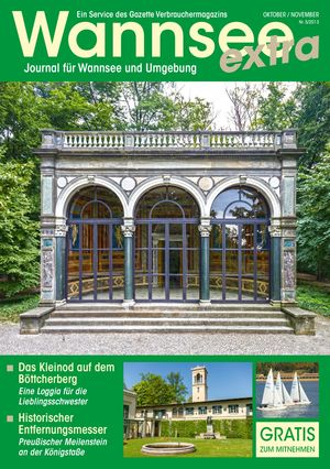 Titelbild Wannsee Journal 5/2013