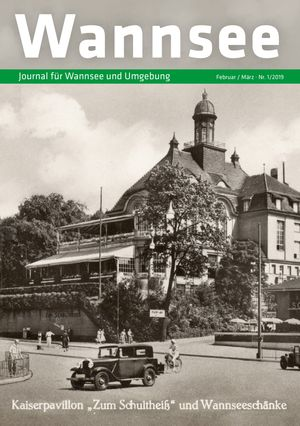 Titelbild Wannsee Journal 1/2019