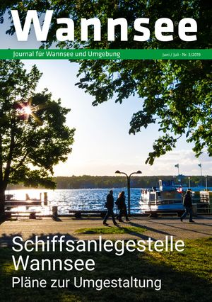 Titelbild Wannsee Journal 3/2019