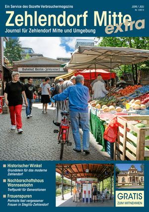 Titelbild Zehlendorf Mitte Journal 1/2013