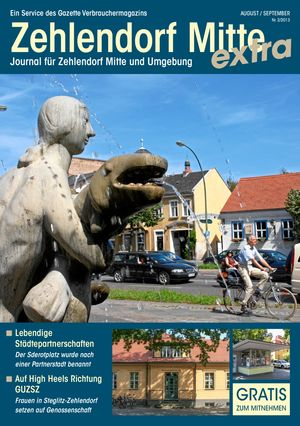 Titelbild Zehlendorf Mitte Journal 2/2013
