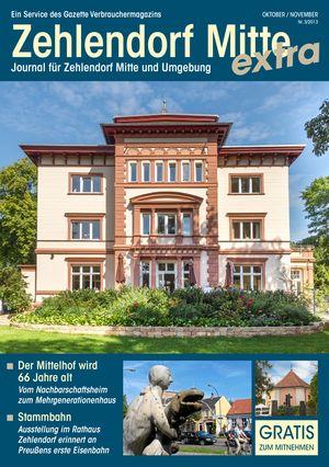 Titelbild Zehlendorf Mitte Journal 3/2013