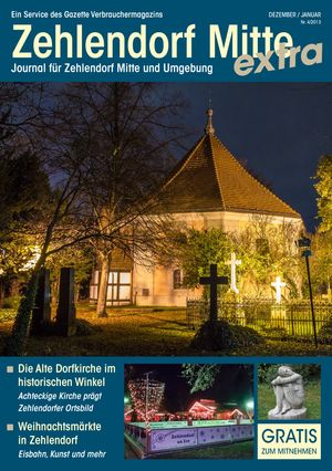 Titelbild Zehlendorf Mitte Journal 4/2013