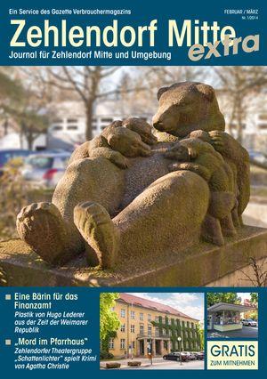 Titelbild Zehlendorf Mitte Journal 1/2014