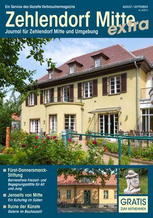 Titelbild Zehlendorf Mitte Journal 4/2014