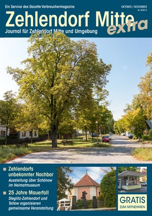 Titelbild Zehlendorf Mitte Journal 5/2014