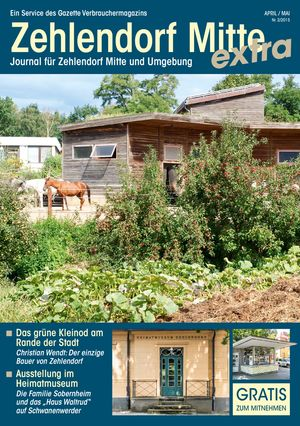 Titelbild Zehlendorf Mitte Journal 2/2015