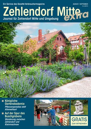 Titelbild Zehlendorf Mitte Journal 4/2015