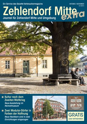 Titelbild Zehlendorf Mitte Journal 5/2015