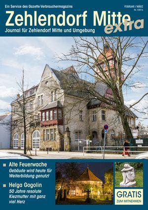 Titelbild Zehlendorf Mitte Journal 1/2016