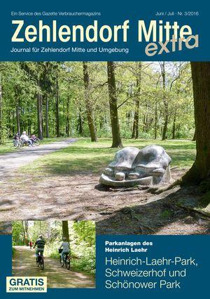 Titelbild Zehlendorf Mitte Journal 3/2016